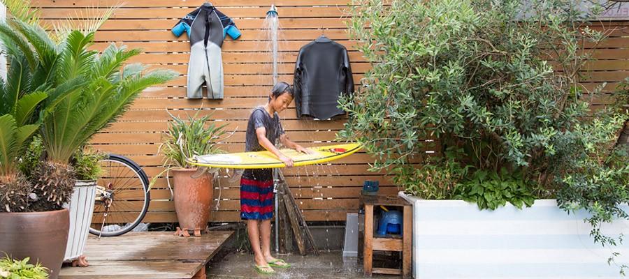海辺で暮らす サーフィンを存分に楽しむための茅ヶ崎の家