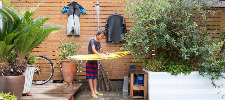 海辺で暮らす〜サーフィンを存分に 楽しむための茅ヶ崎の家