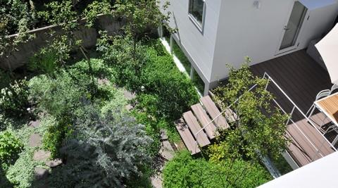 離れと庭のある暮らし豊かな緑に囲まれた世田谷モダンライフ