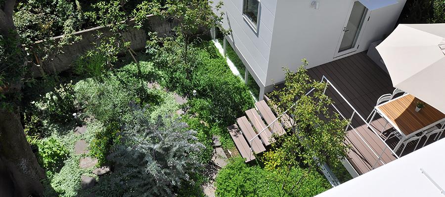 離れと庭のある暮らし 〜豊かな緑に囲まれた 世田谷モダンライフ
