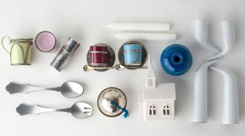 ホームパーティアイテム −2−  テーブルをポップに彩る カラフルでキュートな小物