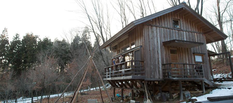 自分サイズの暮らしを探す〜1000坪の広大な敷地に建つ9坪の小さな家
