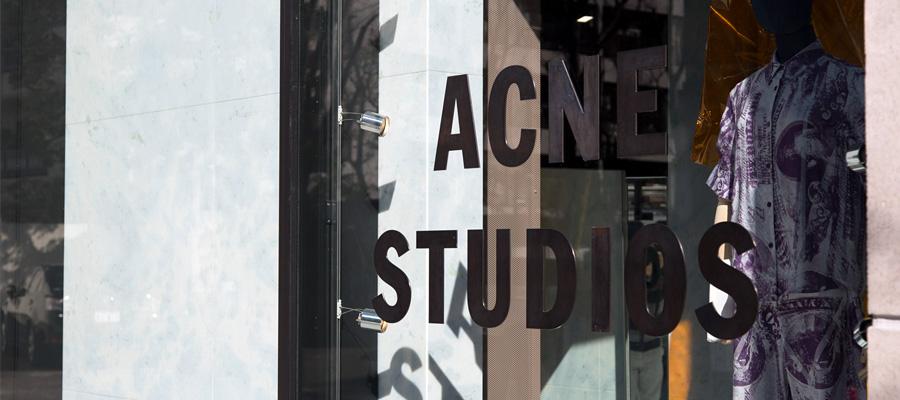 ACNE STUDIOS -1- クリエイティブ集団「ACNE STUDIOS」が日本で描くもの。