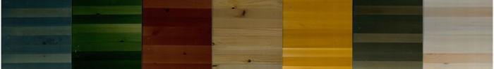 """フラットテーブル""""ラフタード"""" W1700 D720 H710mm ¥199,500 W2000 D720 H710mm ¥273,000 左からブルー・グリーン・レッド・クリア・イエロー・ライトグレー・ホワイト(ヴィンテージカラー) CIBONE COLLECTION/CIBONE Aoyama"""