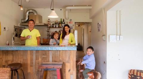 海辺の暮らしを満喫海辺の古い一軒家を自分らしく再生
