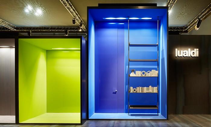 ドア&ウォール収納システムのメーカー。クリアラッカーの鮮やかな色彩も特徴。