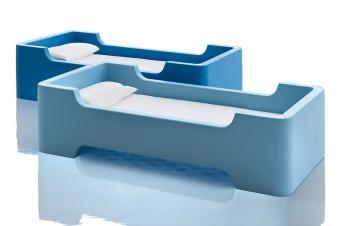セパレートでシングルベッドとしても使える。
