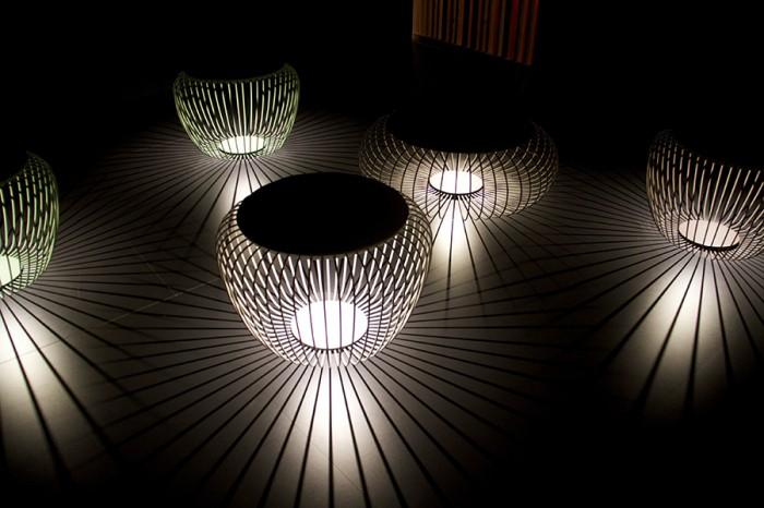 「Meridiano」Jordi Vilardell & Meritxell Vidalデザイン。屋外用の照明。