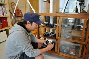 石沢さんは主にファッション系で活躍するカメラマン。