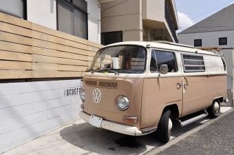 愛車も中古を購入。フォルクスワーゲンのタイプ2(1968年式)。