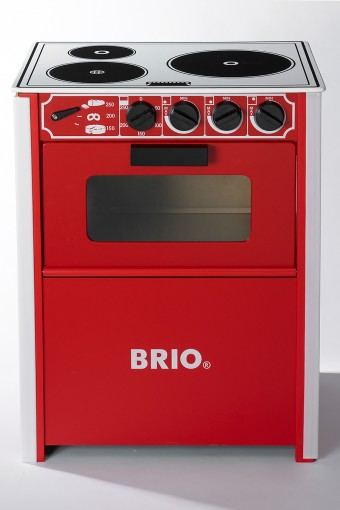 KITCHEN STOVE RED W406 D294 H505mm ¥9,450 BRIO/THE CONRAN SHOP
