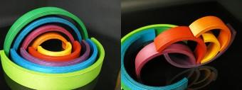 Rainbow(バチ・木玉付き) φ255 H30mm ¥26,040 naef/木のおもちゃウッドワーロック
