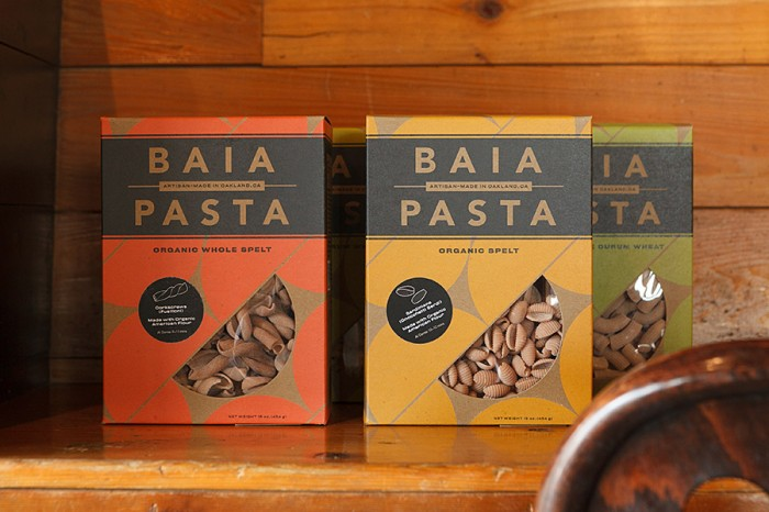 Renato SardoとDario Barboneの2人がスタートした、厳選されたオーガニック小麦を使用したパスタメーカー「BAIA PASTA」。