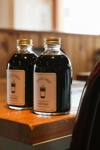 Tas Yardでオープン当初より人気のコーヒー牛乳がシロップに。このコーヒーシロップを牛乳で割るだけで、家庭で簡単にカフェの味が再現できる。