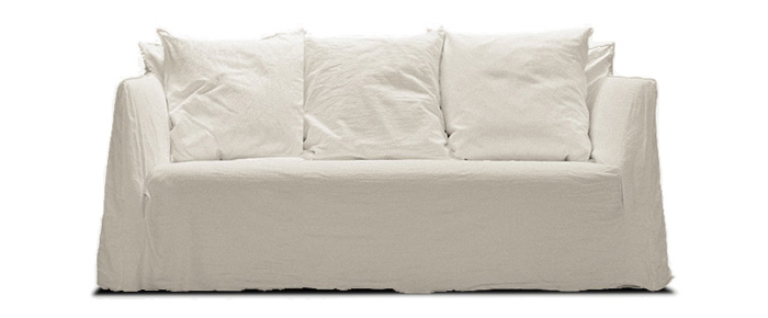 GHOST SOFA W1800 D850 H800 SH420mm ¥387,450 GERVASONI/THE CONRAN SHOP