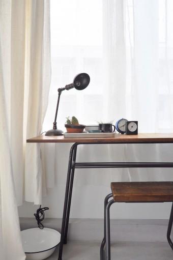 キッチンとともに奥さんのお気に入りの場所。個室ではないが、個室的に「自分の空間と時間」に浸れるという。