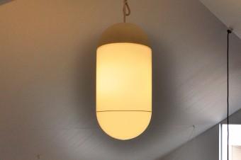国立の古道具屋さんで購入したドイツ製の古いライト。