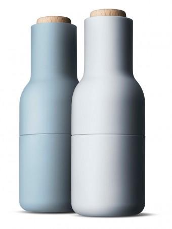 ペッパー&ソルト・グラインダー。北欧らしい色合い。