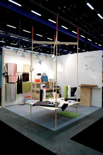 展示はフィンランドのArtekの協力によるもの。Photo: Hironori Tsukue ショップ:UNPIATTO http://ottaipnu.com/shop.html