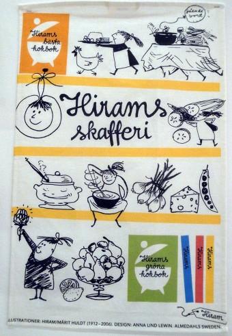 お料理が楽しくなるような、ティータオル。アナ・リンド・レウィンによるデザイン。