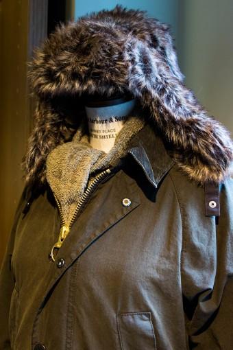 Fur Hunter(Ladies) ¥11,550 トレンドのファーを用いたエスキモーキャップ。コーディネイトに馴染みやすい程よいボリューム感。