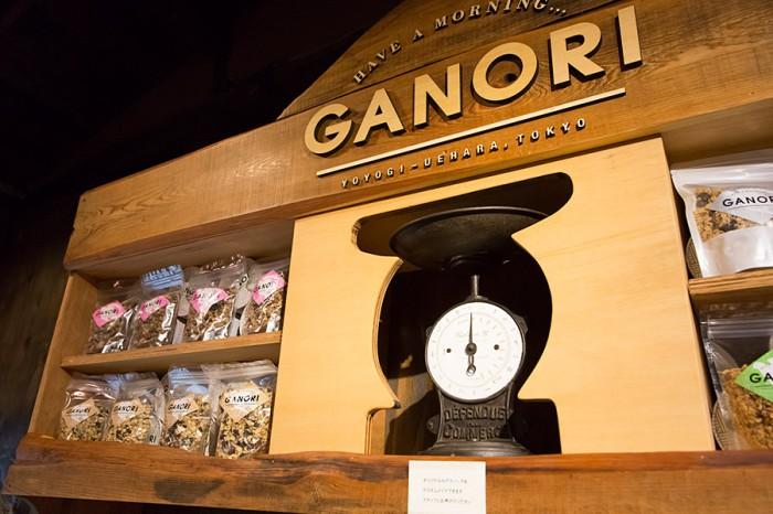 GANORIとはイタリア語でグラノーラを表す「ガノリエッタ」から。