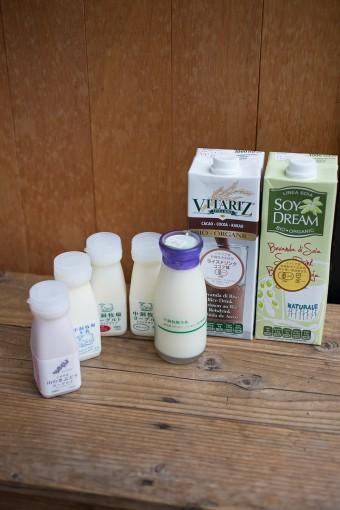 豆乳はオリジナルチャイミックスにかけるのが特におすすめ。チャイのスパイシーな香りがいっそう引き立つ。