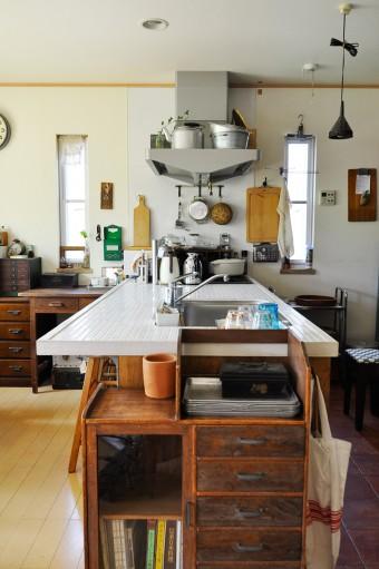 オープンキッチンだったことが、この家を買う決め手となった。