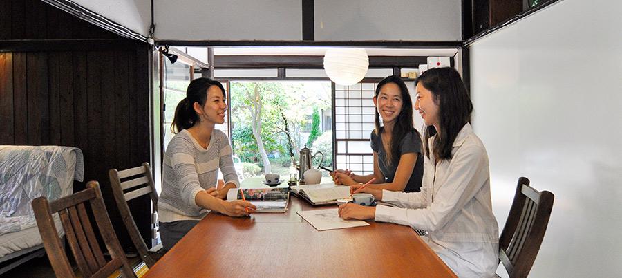 古民家を現代に 日本の伝統を受け継ぐ 双子姉妹の挑戦