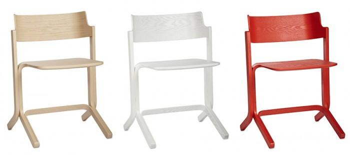 ru chair W538 D444 H703 SH455mm(アッシュ・ホワイト・コーラル) 各¥31,500 HAY/CIBONE Aoyama