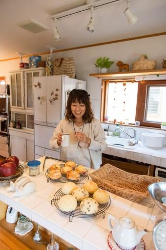 郁代さんのパン教室 は、こねた生地を持ち帰り、自宅で再度焼けるのが人気。