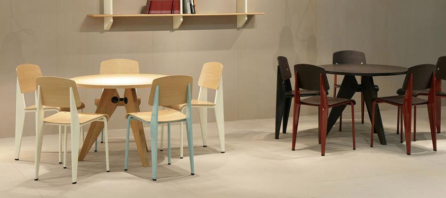 wood chair -2- 美しい木目を引き立てる バイカラー&異素材ミックスチェア