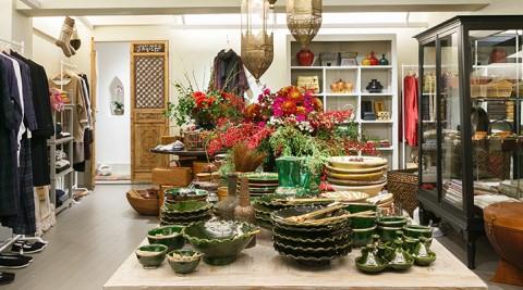 House of Lotus -1-世界を旅しながら集めた美しい手工芸品や雑貨