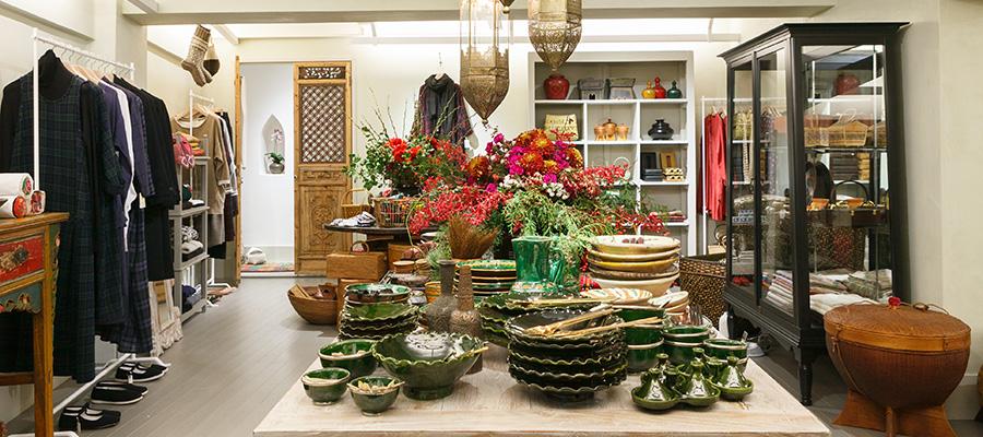 House of Lotus -1- 世界を旅しながら集めた 美しい手工芸品や雑貨