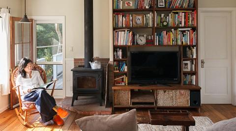 理想をカタチにするアメリカの古材を使った、CAPE COD STYLEの家。