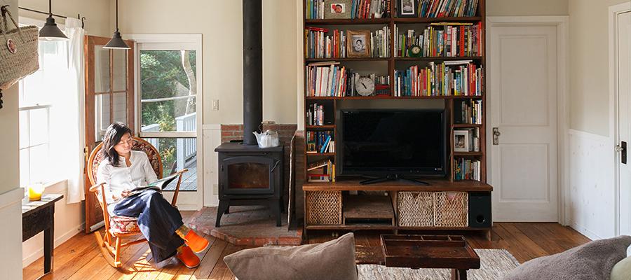 理想をカタチにする アメリカの古材を使った、 CAPE COD STYLEの家。