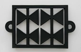 鍋敷き W250 D153 H20mm ¥4,725 釜定工房/designshop