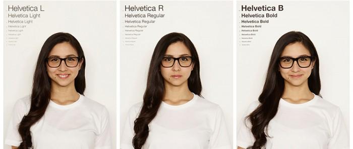 〈Helvetica〉 やや角丸なデザインで、ウェリントンタイプのセルフレーム。彫の浅い日本人の顔にも合わせやすいそう。時代に流されず長く使えるメガネ。