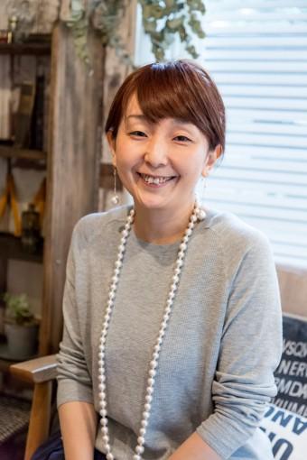 村上直子さん。雑貨好き、インテリア好きが高じて整理収納アドバイザーに。