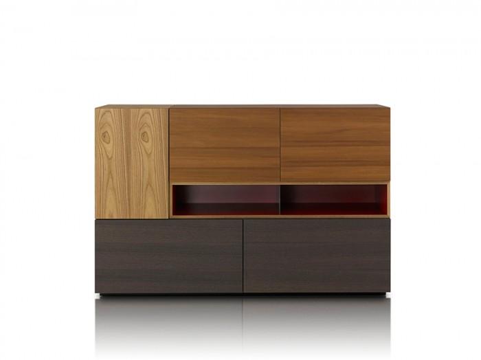「Modern」Piero Lissoniデザイン。マルチユースの収納家具。ユニットは組み替え可能。