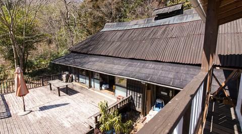 陶芸家の理想の家タバコの葉の乾燥小屋を住まいにリノベーション