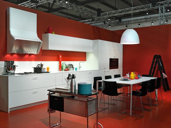 「Mesa」のコンセプトは、懐かしさ。大家族が集うダイニングキッチンを想起させる。