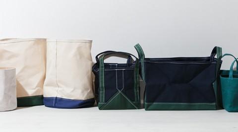 キャンバスアイテム -2-無骨で丈夫な帆布の日用品