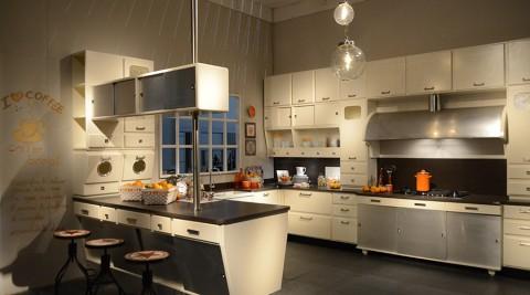 ミラノ・サローネ特集2014  -4-技術とオリジナリティで覇を競うイタリアメーカーの独創的キッチン