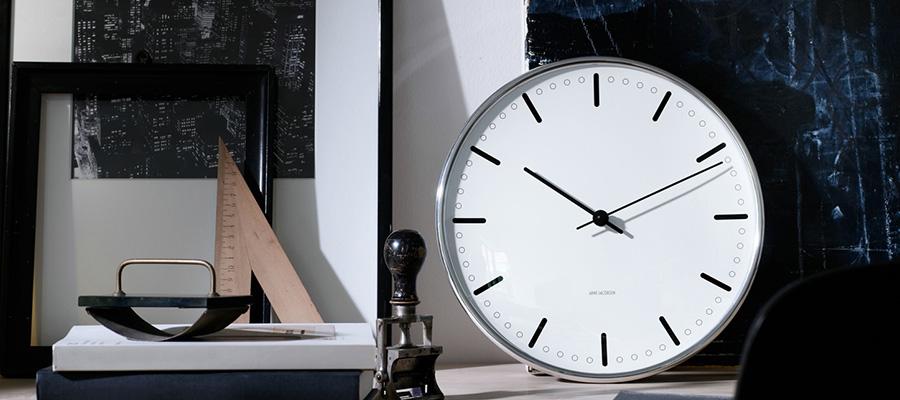 wall clock −2− シンプルを極めた タイムレスなデザイン