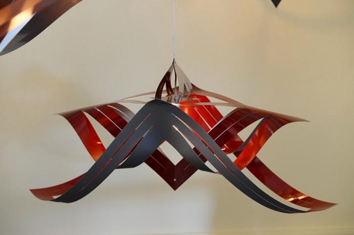 切り紙細工の手法とCGデザインの混合