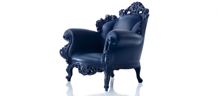 Magis Proust(ブルー) W1040 D900 H1050 SH390mm ¥120,000 ALESSANDRO MENDINI/Magis Japan