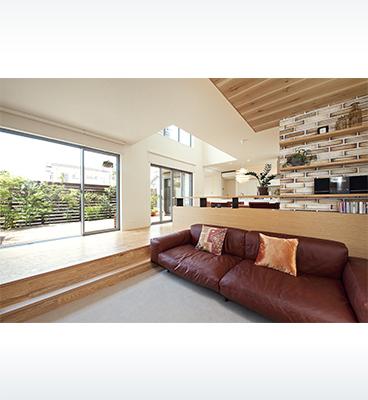 ヘーベルハウスの実例自然素材で心地よく共働き子育て家族の理想の家