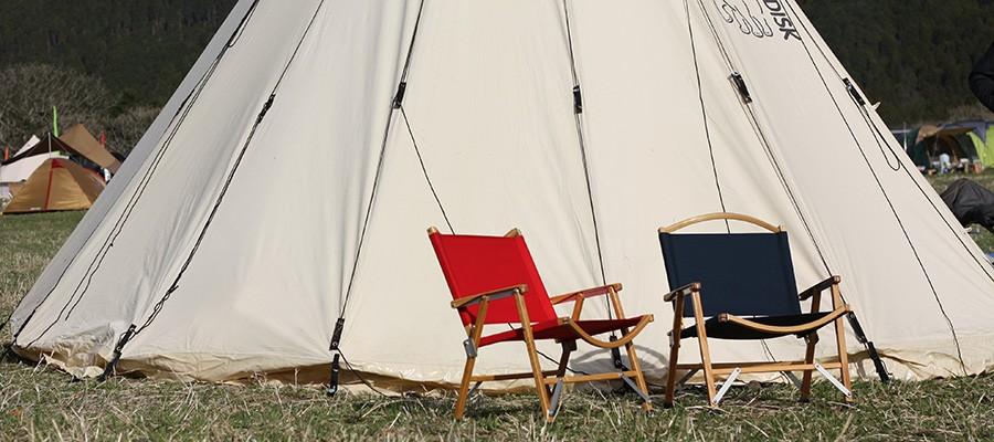 アウトドアファニチャー −2−キャンプやフェスにお洒落で堅牢なテーブル&チェア