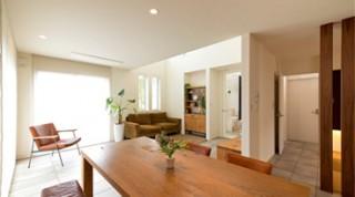ヘーベルハウスの実例お気に入りの家具に囲まれ、ずっと愛着を感じ暮らす住まい